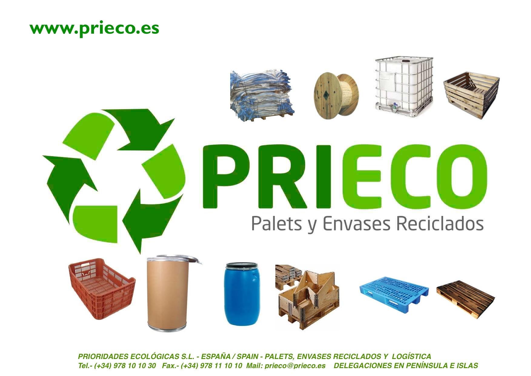 PALETS Y ENVASES USADOS /RECICLADOS